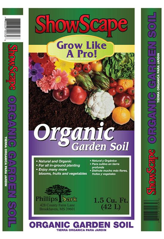 Phillips Bark Organic Garden Soil Bag